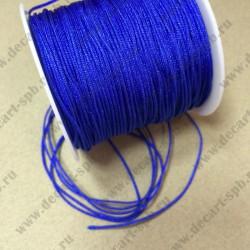 Шнур нейлоновый 1,2см ярко-синий