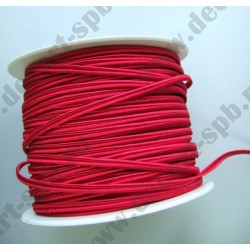 Сутаж 4мм красный 1м Италия