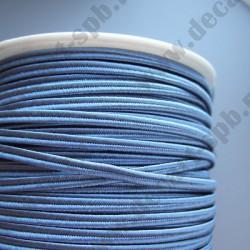 Сутаж 4мм серо-голубой 1м Италия