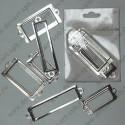 Набор рамок металлических 6 шт цвет -никель