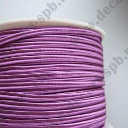 Сутаж 4мм фиолет1м Италия