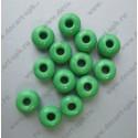 Бисер 6мм зеленый светлый 10гр Чехия
