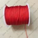 Шнур нейлоновый 1,2см, красный, 1м