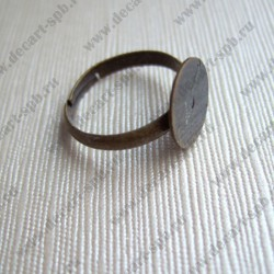 Заготовка для кольца (диск 10мм) бронза