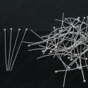 Пины / Штифты с шариком  40мм 10 шт никель