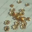 Шапочка декоративная 5мм золото 10шт