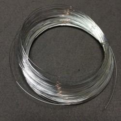Проволока юверилная 0,6м серебрянная 10м