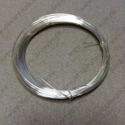 Проволока юверилная 0,4м серебрянная 20м