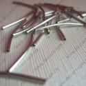 Трубочка 20 (никель) (10 шт)