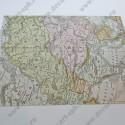 Ткань сатин клеевой 23х32 Карта