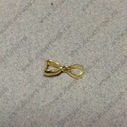 Держатель для кулона13мм цвет - золото