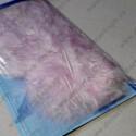 Декоративные перья, розовый, около 30 шт, 2г