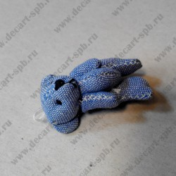 "Игрушка "" мишка"", синий, 45 мм"