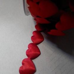 Лента из декоративных сердечек, 1 шт., 17*20 мм