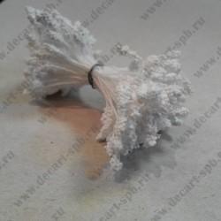 Тычинки двусторонние, белые, 55*33 мм, 10 шт.