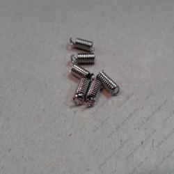 """Концевик """"пружина"""" 6*3 мм, никель"""