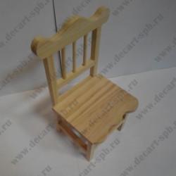 """Деревянная заготовка """"стул"""", 9*8,5*17 см"""