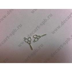 Ножницы 14 30 мм цвет серебро