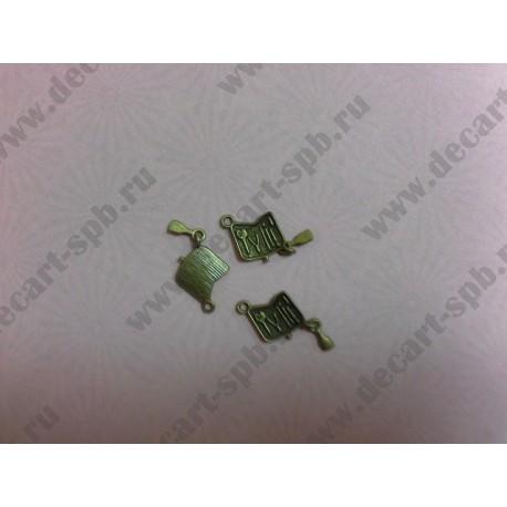 1-8 маникюрный набор бронза 15х27мм