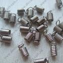 """Концевик """"пружина"""" 8х4мм никель"""