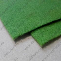 Фетр 20 Х 30 см толщина 1.4мм зеленый