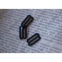 Регулятор для ленты 15мм, пластик, цвет - черный, 1шт