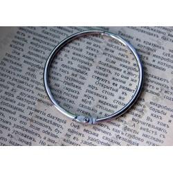 Кольца для альбома 70мм цвет - никель 2шт