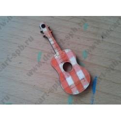 Гитара деревянная, 63х24мм