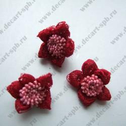 Цветы пришивные Floranta 18 мм