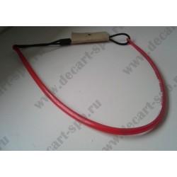 Основа под обруч силиконовая толщина 5мм, цвет - красный