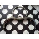 Рамка для сумки Размер: 19.5см x 16.5см 19.5см x 9см, с ручкой цвет сталь