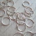 Кольцо для бус 8мм (серебро) 25 шт