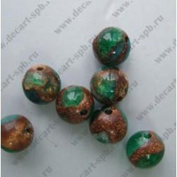Варисцит зеленый 10 мм