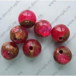 Варисцит малиновый 6 мм