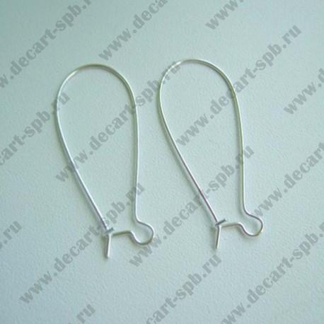 Швензы для серег 14х33 (серебро) пара
