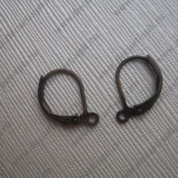 Швензы округлые 16мм (бронза) пара